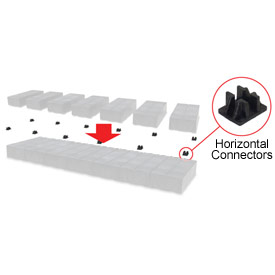 Horizontal Connector - Dunnage Cube (4pcs)