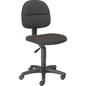 Futura Secretary Chair-Black  by