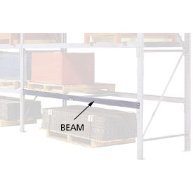 "Pallet Rack Beam Pair - 4"" Channel 96""W x 36""D"