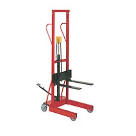 Wesco® Compact Lift Truck Foot Pedal Lift with Forks 260151 500 Lb. Cap.