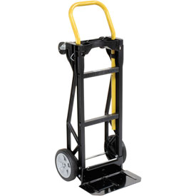Harper™ PJD2223A Ultra Lite Nylon 2-in-1 Convertible Hand Truck Semi-Pneumatic Wheels