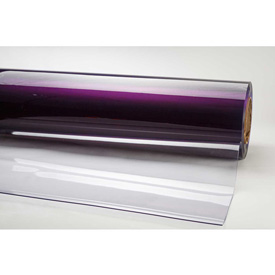 "TMI PVC Strip Curtain Door Bulk Roll Standard Grade Clear 24"" x 60' x .080"""