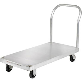 Magliner® Aluminum Platform Truck with Smooth Deck 48 x 24 1400 Lb. Cap.