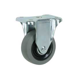 "Faultless Rigid Plate Caster 7793-3 3"" TPR Wheel"