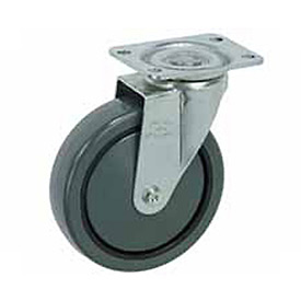 "Faultless Swivel Plate Caster 499-3 3"" Polyurethane Wheel"