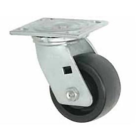 "Faultless Swivel Plate Caster 1431-6 6"" Phenolic Wheel"