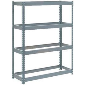 "Extra Heavy Duty Shelving 48""W x 18""D x 60""H With 4 Shelves, No Deck"