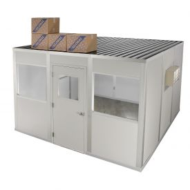 Modular Partition Storage Roof For Four Wall 16' X 16'