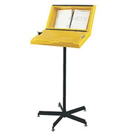 Hubbell A1200-02 Information Stand With Three Ring Binder