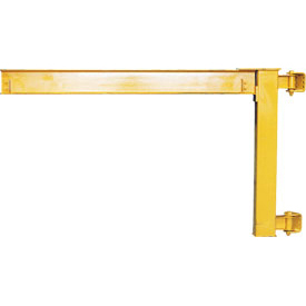 Abell-Howe® Under-Braced Wall Mounted Jib Crane 960018 2000 Lb. Capacity