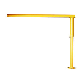 Abell-Howe® Light Duty Floor Crane 4S0006 500 Lb. Capacity