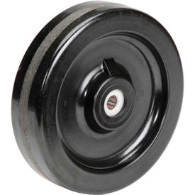 "8"" x 2"" Molded Plastic Wheel - Axle Size 5/8"""