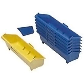 Lyon Tilt Bin Dividers NF3445BWYB-18 - Package Of 18