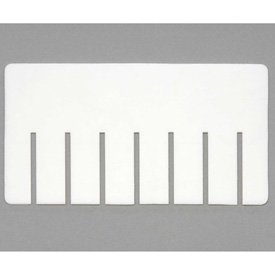 Dandux Width Divider 50P0011043 for Dividable Stackable Box 50P0112050, White