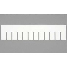 Dandux Length Divider 50P0017027 for Dividable Stackable Box 50P0112034, White