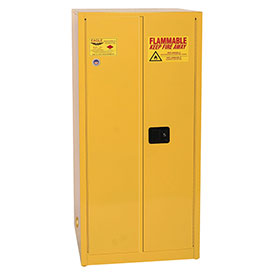 Eagle Flammable Cabinet with Self Close Double Door 60 Gallon