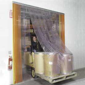 Plastic curtains for warehouses