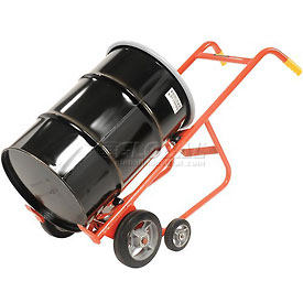 Wesco® 4-Wheel Dispensing Drum Truck 240005 for 30 & 55 Gal Steel Drums
