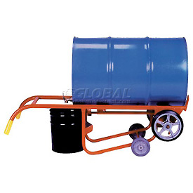 Wesco® 4-Wheel Dispensing Drum Truck 270203 for 30 & 55 Gallon Steel Drums