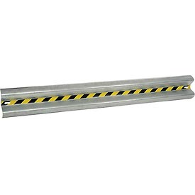 Bolt-On Straight Galvanized Guard Rail 8 Ft.