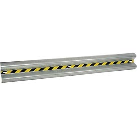 Bolt-On Straight Galvanized Guard Rail 12 Ft.