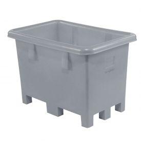 "Dandux Pallet Container 51080716A - 42""L x 29""W x 31'H Single Wall, Gray"