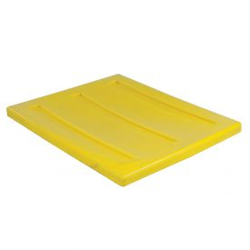 "Dandux Pallet Container Lid 51-2030LY - 52""L x 42""W, Yellow"