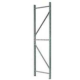 Husky Rack & Wire IU18360144 Pallet Rack Tear Drop Upright Frame - 144x36