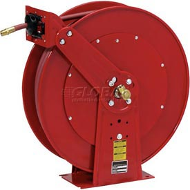 "Reelcraft 7925 OLP 3/4"" x 25' 250 PSI All Steel Reel Spring Rewind Hose Reel"