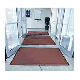 "Entryway Mat Outside Scraper 36""X60"" Burgundy"