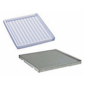 Additional 60 Gal Poly Tray & Shelf Assembly