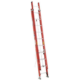 Werner 20' Fiberglass Extension Ladder 300 lb. Cap - D6220-2