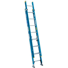Werner 16' Fiberglass Extension Ladder 250 lb. Cap - D6016-2