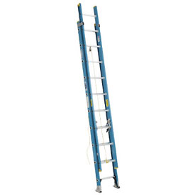 Werner 20' Fiberglass Extension Ladder 250 lb. Cap - D6020-2