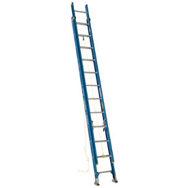 Werner 24' Fiberglass Extension Ladder 250 lb. Cap - D6024-2