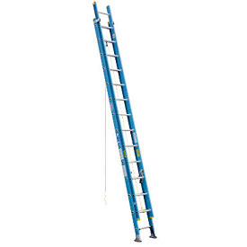 Werner 28' Fiberglass Extension Ladder 250 lb. Cap - D6028-2