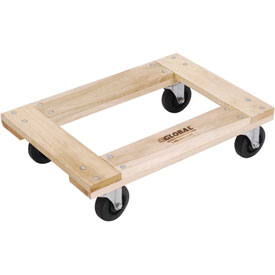 Hardwood Dolly with Open Deck 36 x 24 1200 Lb. Capacity