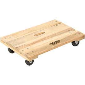 Hardwood Dolly with Solid Deck 36 x 24 1000 Lb. Capacity