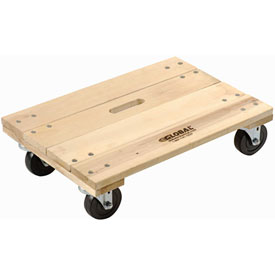 Hardwood Dolly with Solid Deck 36 x 24 1200 Lb. Capacity