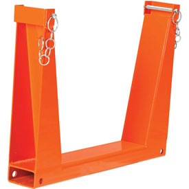 "Safety U-Rack 25""W x 4""D x 20""H  10,000 lb. Capacity"