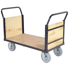 Euro Truck With Wood Ends & Deck 48 x 24 1200 Lb. Capacity