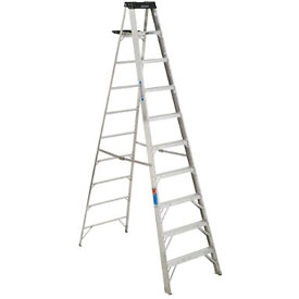 Werner 10' Type 1A Aluminum Step Ladder - 310
