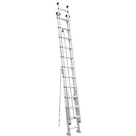 Werner Extension Ladder Slip-Resistant Step 300 lb. Cap - D1524-2