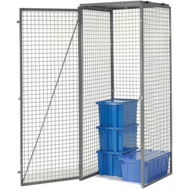 Bulk Storage Locker Single Tier 4' X 3' Starter Without Roof