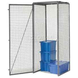 Bulk Storage Locker Single Tier 3' X 3' Starter With Roof