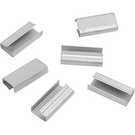 Steel Strapping Seals For Use With W Steel Strapping Tools - 1,000 Pack