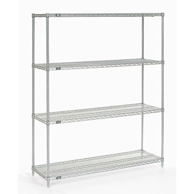 "Nexelate Wire Shelving 60""W X 18""D X 74""H"