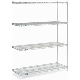 "Nexelate Wire Shelving Add-On 48""W X 18""D X 63""H"