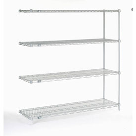 "Nexelate Wire Shelving Add-On 60""W X 18""D X 63""H"