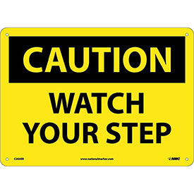 Safety Signs - Caution Watch Your Step - Fiberglass